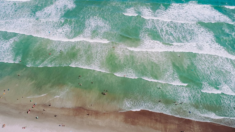 Beach in USA | © AnnieSpratt / Pixabay