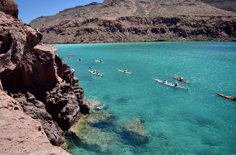 Multi-day kayaking trip around Espíritu Santo Island