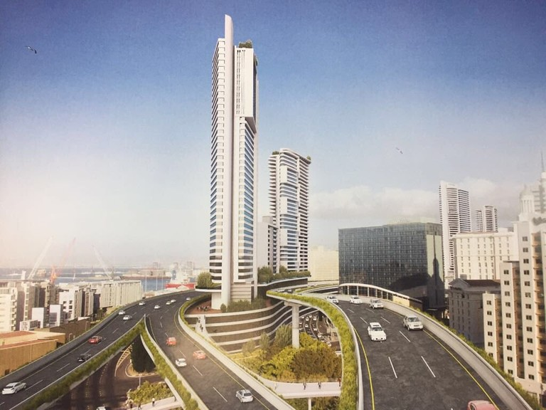 Artist's impression of finished development