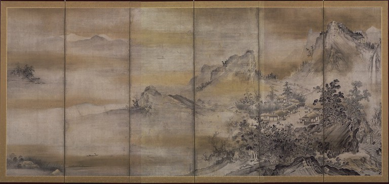 Eight Views of Xiao and Xiang (Right) copy