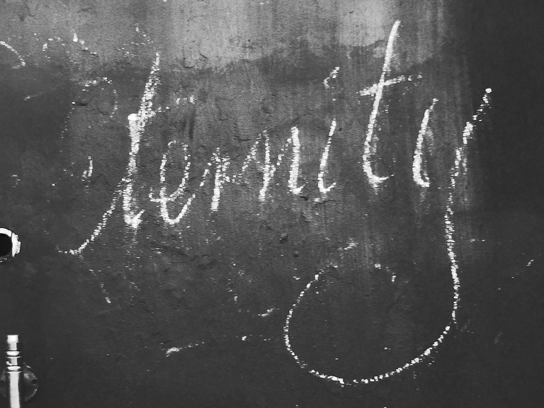 Eternity in chalk © Newtown graffiti/Flickr