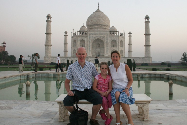Family at Taj.v1