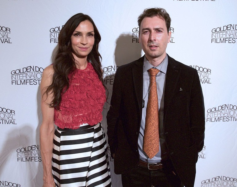 Famke_Jansen_Artur_Balder_at_Golden_Door_Intl_Film_Fest_2015
