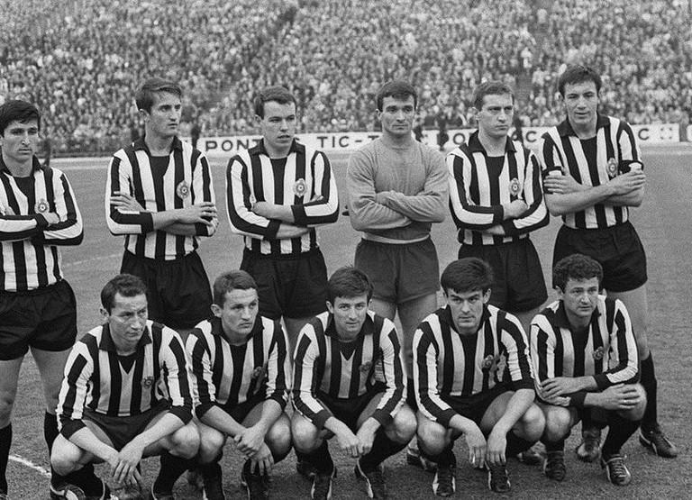FK Partizan in 1966
