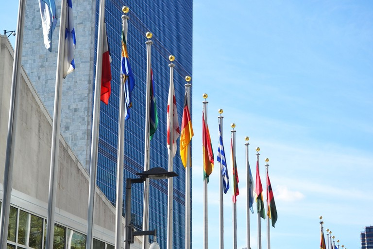 The United Nations Flags