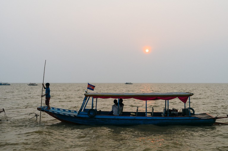 Many fishermen double up as boat drivers to cater to the growing tourists