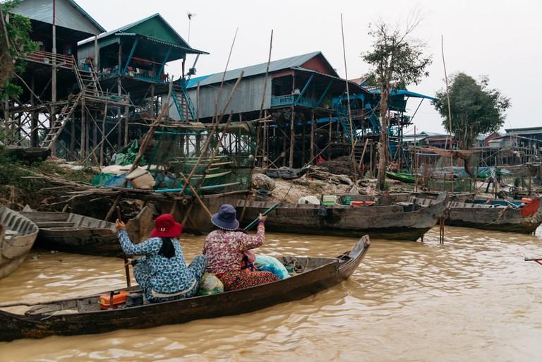 Village life at Kampong Phluk