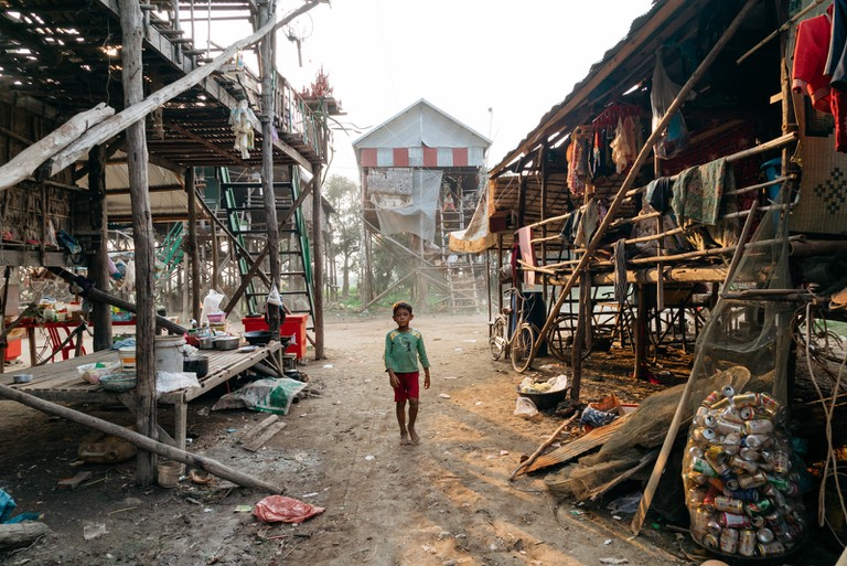Making a living is difficult for villagers
