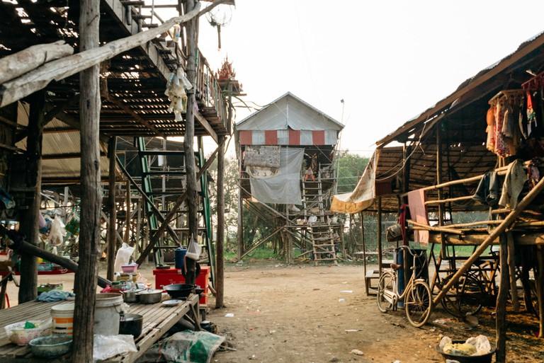 Village life during dry season