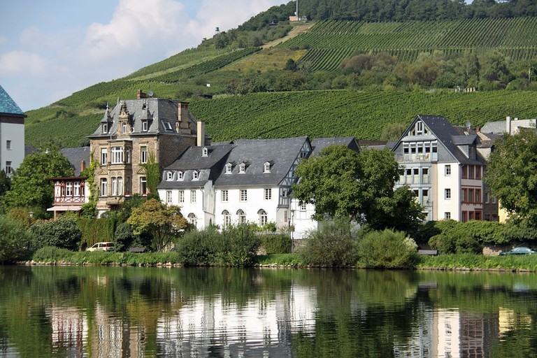 Traben-Trarbach is a quaint riverside town