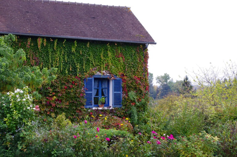 A house in the village of Giverny