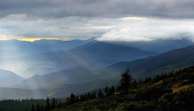 Hoverla Mountain Ukraine