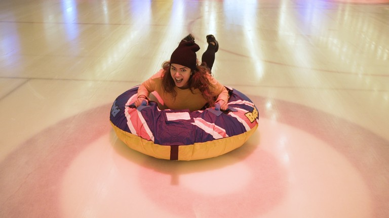 Human Curling Still 8