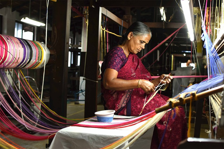 Ethicus works towards improving the lives of cotton farmers and traditional artisans in South India