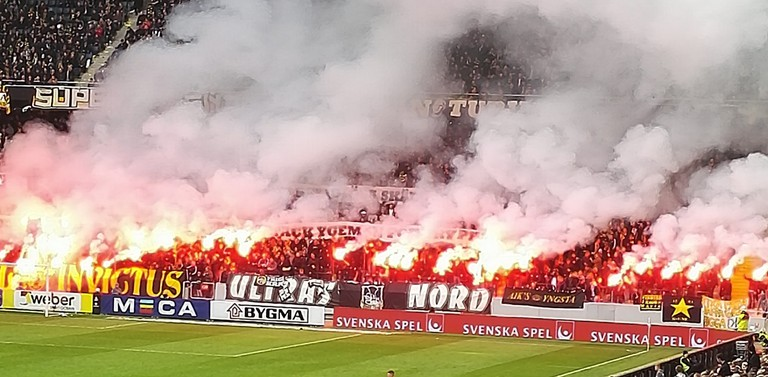 Swedish football is known for its passionate and vocal fans