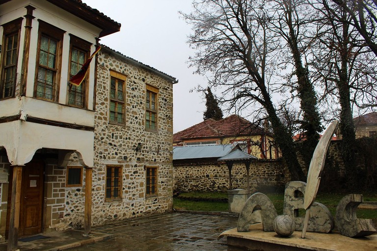 National Museum of Education in Korça, one of the most important sites to visit in town