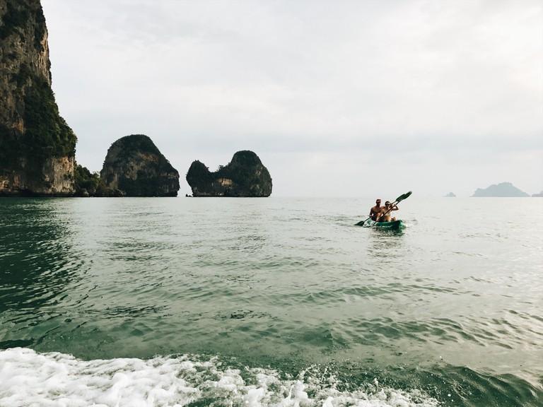 Thailand kayak © Rayna Opoku/Courtesy Rayna Opoku