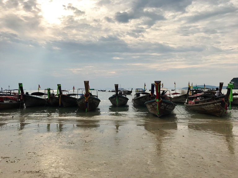 Boats in Thailand | © Rayna Opoku/Courtesy Rayna Opoku