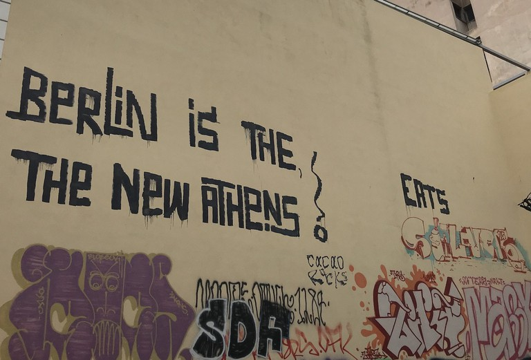 'Berlin is the new Athens' by Cacao Rocks