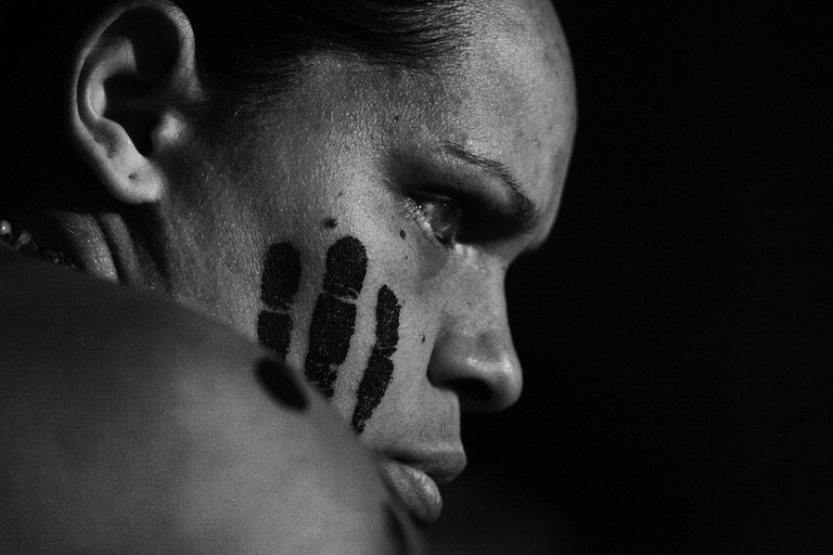 Indigenous Australian person © Steve Evans / Wikimedia Commons