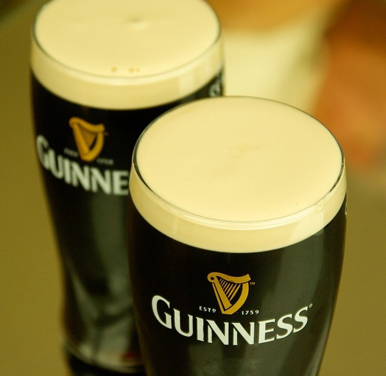The perfect pint of Guinness
