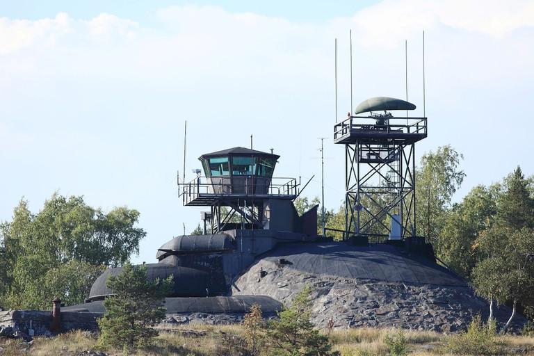 Isosaaren_merivalvonta-asema,_Rikama,_syyskuussa_2013