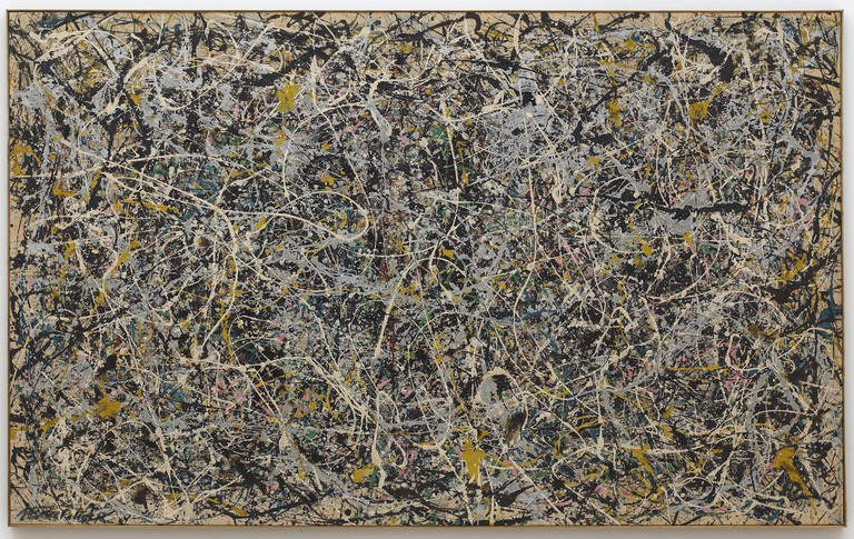 Jackson Pollock, Number 1, 1949, 1949. The Museum of Contemporary Art, Los Angeles, The Rita and Taft Schreiber Collection, Given in loving memory of her husband, Taft Schreiber, by Rita Schreiber