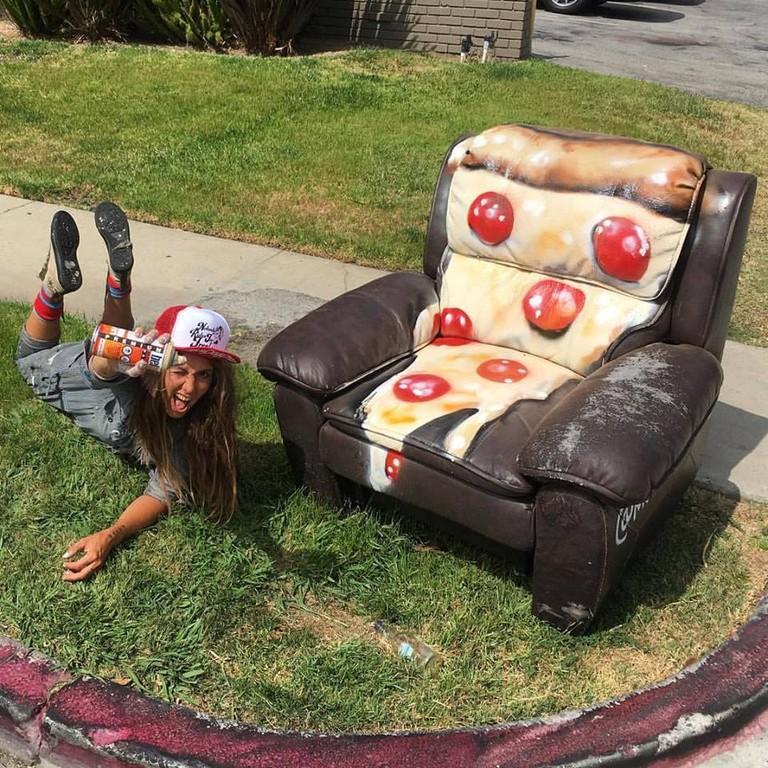 #GARBAGEBOMBING Pizza