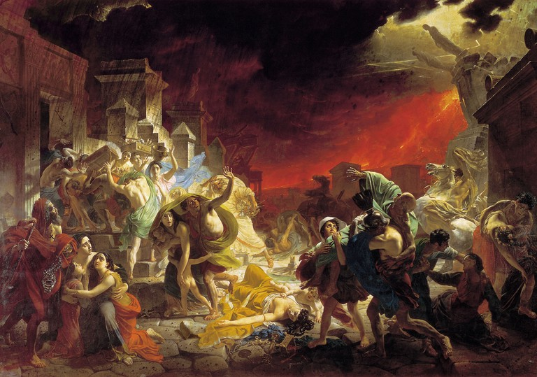 Karl Bryullov, The Last Day of Pompeii (1827–1833)