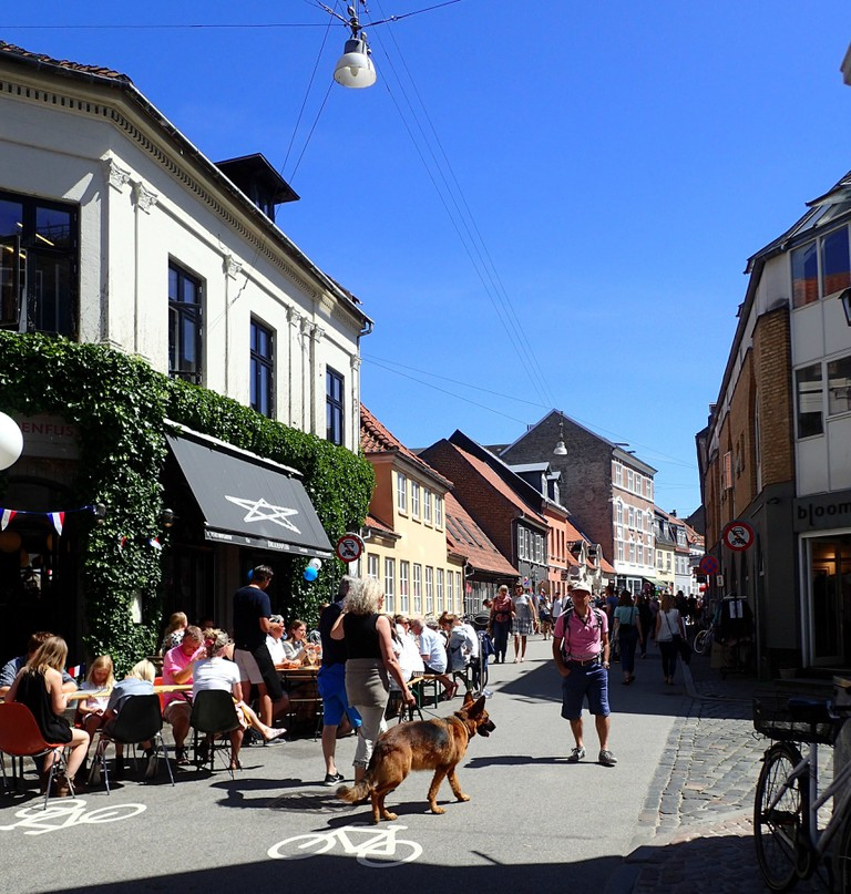 aarhus latin quarter street