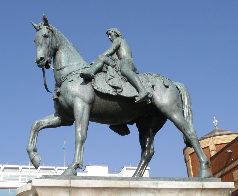 It was believed that Lady Godiva's ride was connected to the Roman water goddess