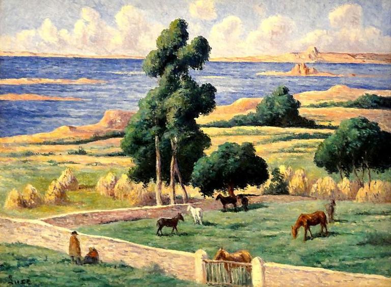 L'ile a bois maximillien luce impressionism