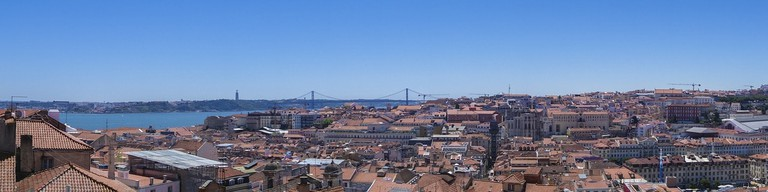 Take in Lisbon's iconic rooftop views