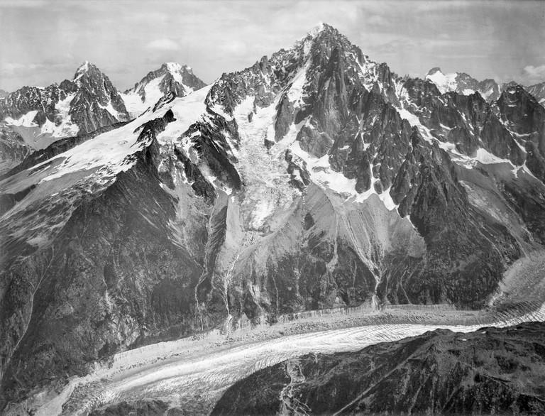 Mont Blanc in 1909 |© Eduard Spelterini/WikiCommons