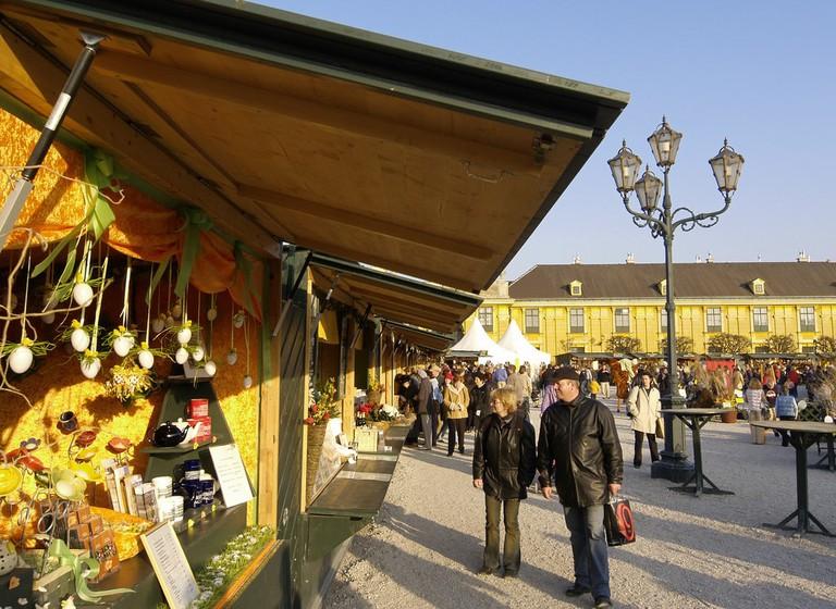 Wien, Ostermarkt Schloss Schönbrunn