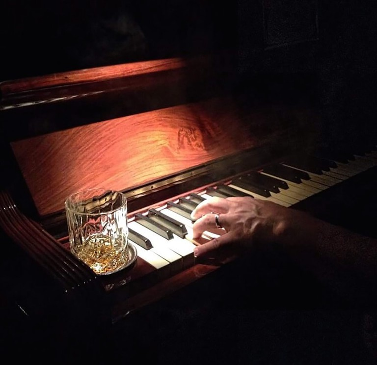 Late nate piano at The Mad Dog Social Club, Turin | Courtesy The Mad Dog Social Club Photo: Alberto Blasetti