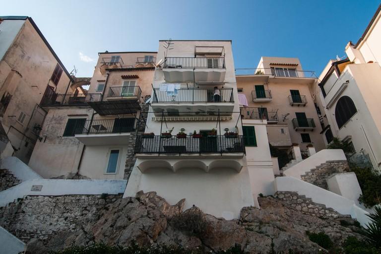 Houses in Sperlonga, Italy