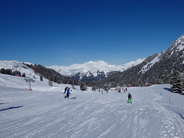 France 61 Cableways Winter Alps Ski Piste