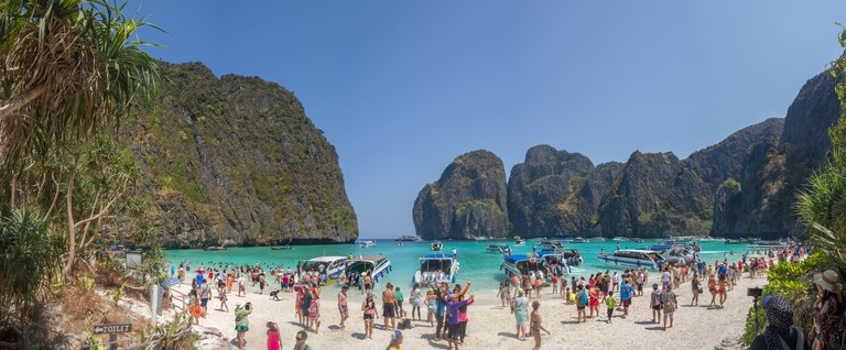 Maya_Bay_panoramic_view