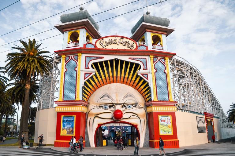 Open wide and enter Luna Park
