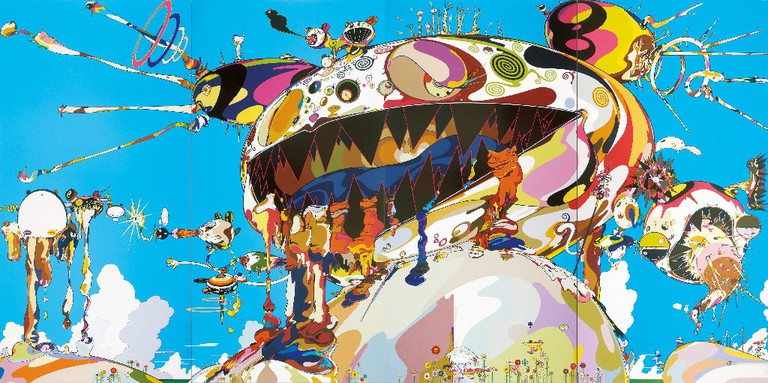 Panting by Takashi Murakami