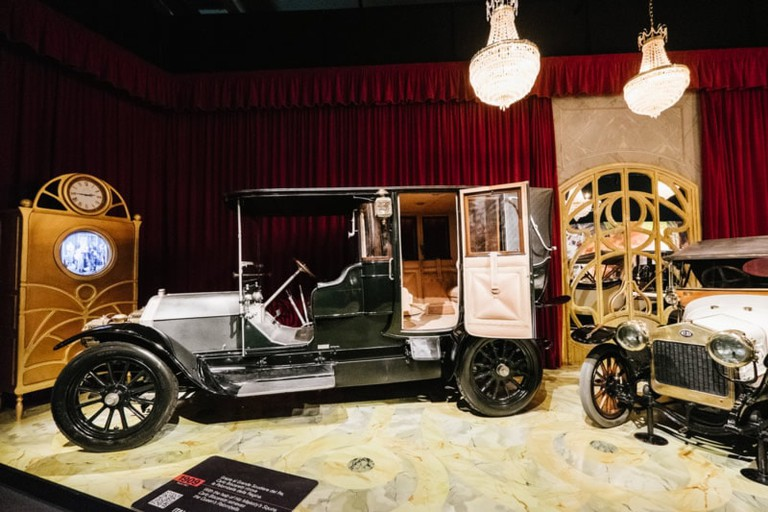 Classic car display at Museo Nazionale del Automobile | Courtesy Museo Nazionale del Automobile