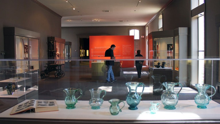 The Museum of American Glass at WheatonArts