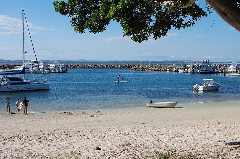 Try stand-up paddleboarding in the beautiful marinas of Nelson Bay