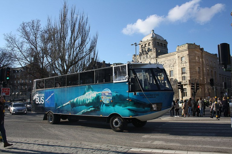Ocean bus covers all of the main attractions in Stockholm