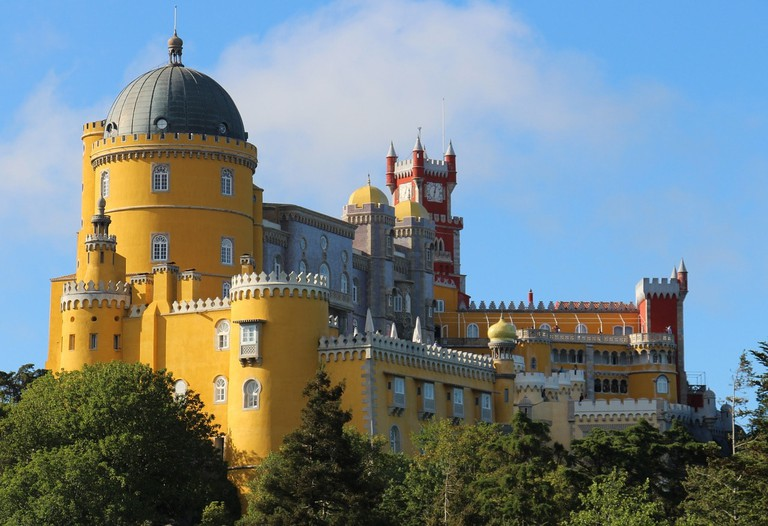 The Pena Palace in Sintra is a must-see