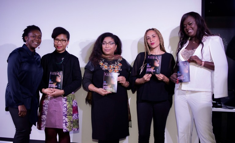 Agnès Kouleon and some of the Bordeaux personalities featured in Kanian magazine