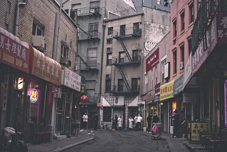 Doyers Street, Chinatown