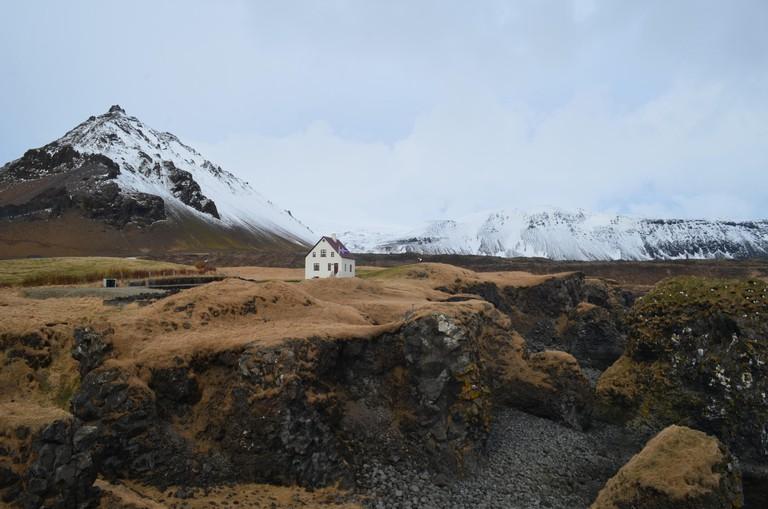 Remote village of Hellnar, Iceland