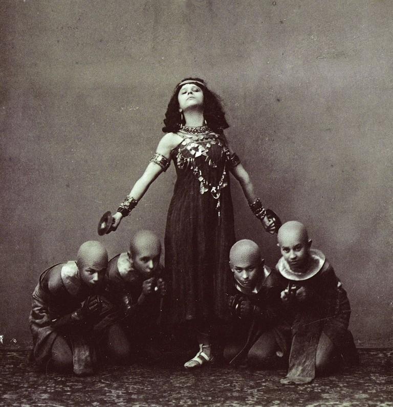 Sofia Fedorova in La Fille Du Pharaon (1909)